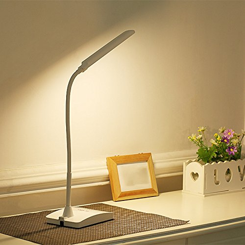 LED-Ladeanzeige Auge lampe Tischlampe Nachttischlampe Schlafzimmer Schlafsaal Schlafsaal Schlafsaal für Kinder zu lernen, Plug-drei Dimmen-Schwarz B073ZZJPZ4 | Ausgezeichnete Qualität  dd4910