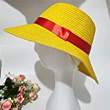 Luffy Straw Hat for Men Women Cosplay Beach Anime