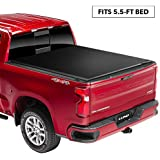 Lund 96872 Genesis Elite Roll Up Truck Bed Tonneau Cover for 2004-2019 Ford F-150; 2006-2014 Lincoln Mark LT (w/o Chrome Tie Downs) | Fits 5.5' Bed