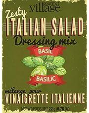 Gourmet du Village Italian Salad Dressing Seasonings Recipe Box Retro, 22.11g