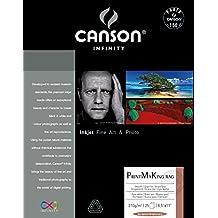 "Canson Infinity PMK Printmaking Rag Fine Art Paper, 8.5""X11"""