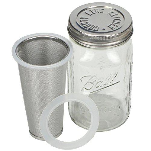 Cold Brew Mason Jar