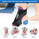 Plantar Fasciitis Night Splint, Enjoyee Adjustable