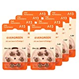 Hearing Aid Battery A13/B6_48 Evergreen