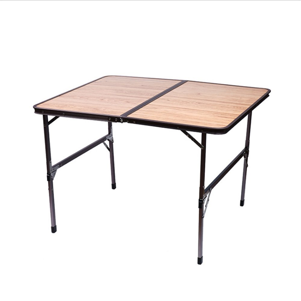 YuFLangel Klapptisch für den Außenbereich, tragbarer Tisch, superleichter Tisch, Campingausrüstung, zusammenklappbar, Aluminium, selbstfahrende Ausrüstung