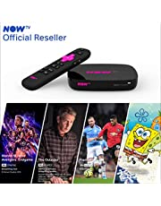 NOW TV 4K Smart Box with 1 month Entertainment Pass, 1 month Sky Cinema Pass, 1 month Kids Pass + Sky Sports Day Pass | HD Streaming Media Player – Watch YouTube, Netflix, BBC iPlayer and more