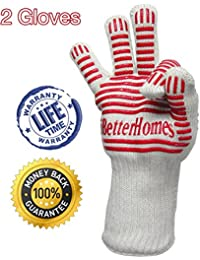 Access 1Pair Cooking Gloves Upto 932°F=500°C Heat Resistant Gloves, BBQ Heat Proof and Kitchen Accessories Non-Slip Extra... deal