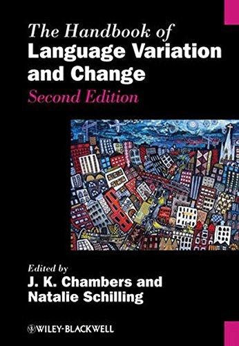 The Handbook of Language Variation and Change (2013-08-26)