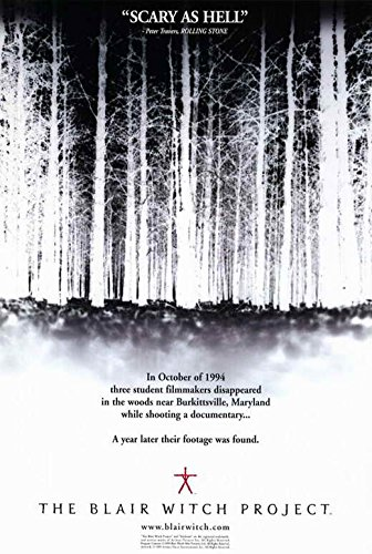 Project Movie Poster Witch Blair - The Blair Witch Project Poster Movie B 11x17 Michael Williams Heather Donahue Joshua Leonard