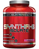 BSN SYNTHA-6 ISOLATE Protein Powder Drink, Strawberry Milkshake, 4.0 lb (48 servings)
