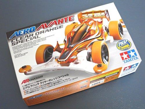Four Wheel Drive Mini Limited Series Mini 4wd Aero Avante Clear Orange Specials (Aero Gate)