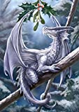 KOTWDQ 5D Diamond Painting Full Square Drill Dragon Paint by Number Kits Embroidery Paintings Pictures Arts Craft for Home Wall Decor