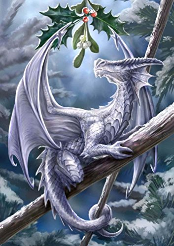 KOTWDQ 5D Diamond Painting Full Square Drill Dragon Paint by Number Kits Embroidery Paintings Pictures Arts Craft for Home Wall Decor by KOTWDQ