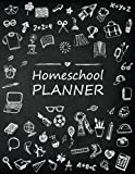 Homeschool Planner: Student Learning Homeschooling Parents Family Record Planner Lesson Planner Book Organizer Journal Study & Teaching Notebook (Lesson Plan and Record Log Book) (Volume 1)