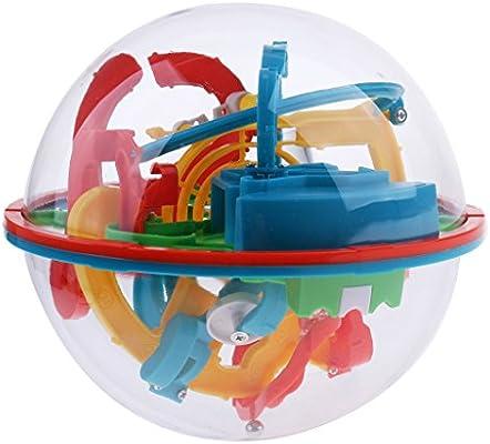 Dolity Bola de Laberinto - 3D Maze Ball Toy - 16 cm Diámetro ...