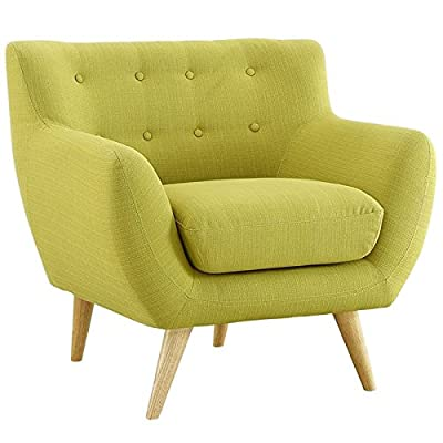 Hawthorne Collections Upholstered Accent Chair in Wheatgrass