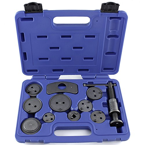 Capri Tools 10015 Disc Brake Caliper Wind Back Tool Kit, 11-Piece