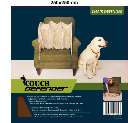 (Couch Defender Chair Defender: Keep Pets Off of Your Furniture, Brown)