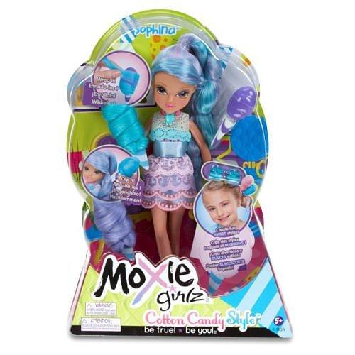 Girlz Moxie Magic Mga (Moxie Girlz Magic Hair Cotton Candy Style Doll - Sophina by MGA)