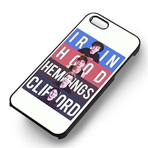Australian Boyband pour Coque Iphone 6 et Coque Iphone 6s Case (Noir Boîtier en plastique dur) I0G6XK