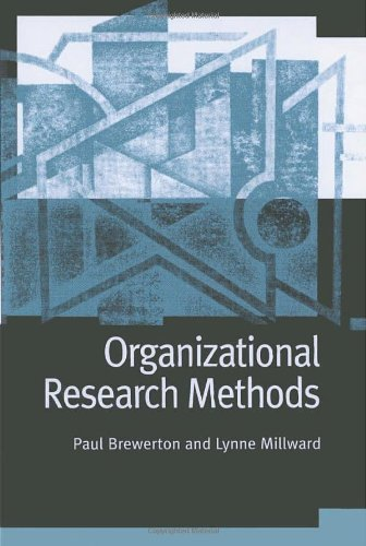 Download Organizational Research Methods: A Guide for Students and Researchers Pdf