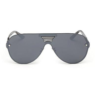 804cb4130f69 Kennifer Mirrored Flat Lenses Sunglasses Fashion Men Women Eyewear  Unbreakable Frame Unisex Sports Driving Fishing Running