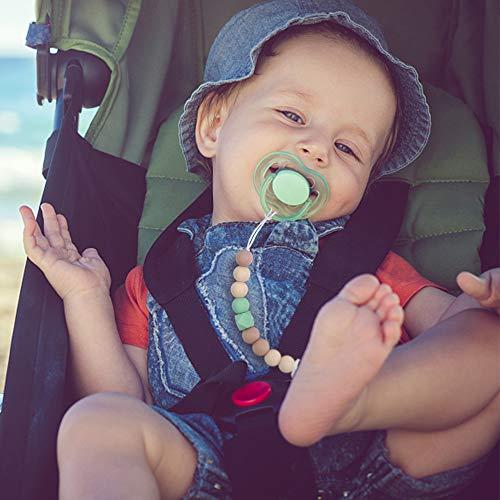 Amazon.com: Clip para chupete para bebé o niña, con clip de ...