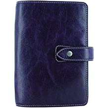 Filofax 2018 Malden Purple Leather Organizer, Personal (6.75 x 3.75) Planner with to do and contacts refills, indexes and notepaper (C025850-18)