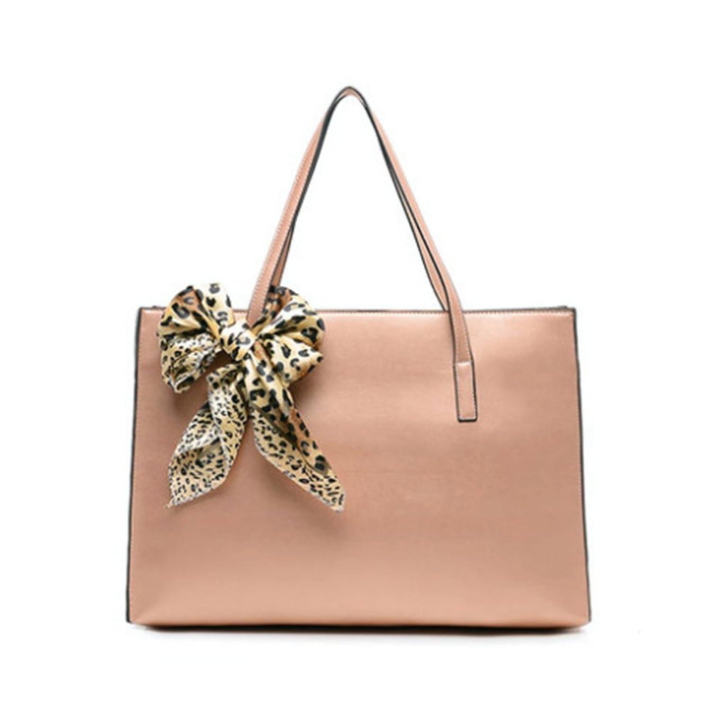 FLANCO Womens Tide Minimalist Leather Handbag Shoulder Bag Leather Handbag Pearl