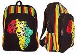 Rasta African lion Backpack