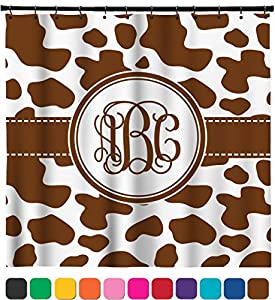 Cow Print Shower Curtain 69 X70 Personalized Home Kitchen