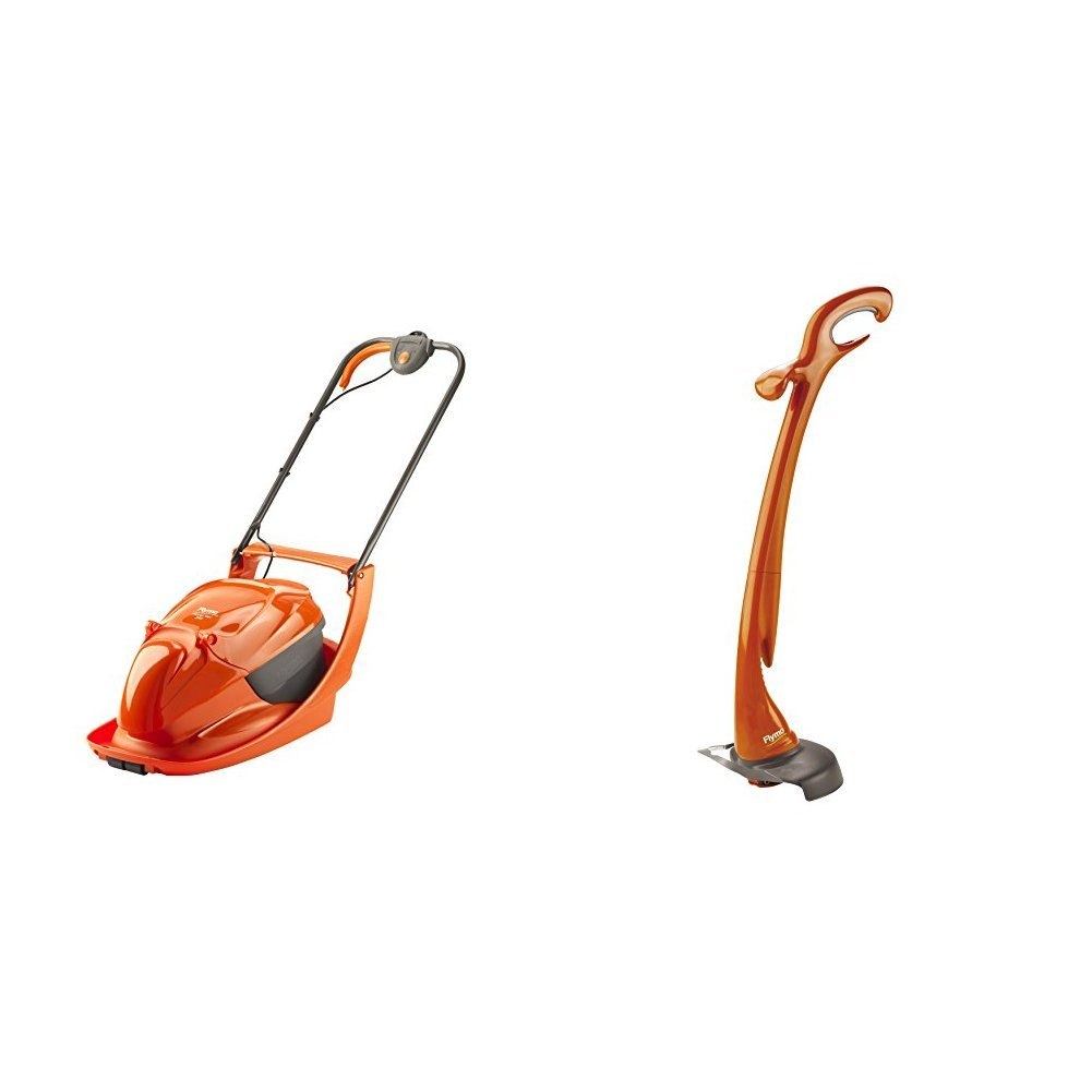 Flymo Hover Vac 280 Electric Hover Collect Lawn Mower, 1300 W 9672586-01