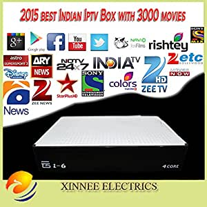 MU india IPTV Box que apoyan 220 plus indios canales, Soporte ...