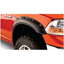 Bushwacker 50037-02 Dodge Pocket Style Fender Flare - Front Pair