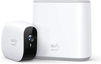 eufy eufyCam E HD Night Vision Wireless Home Security Camera System