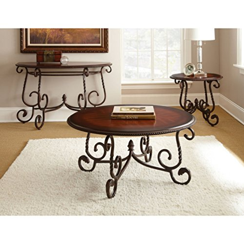 Steve Silver Company Crowley Sofa Table, 48 x 20 x 30