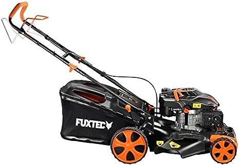 FUXTEC FX-RM2055 - Cortacésped (Cortacésped manual, 50 cm, 2,5 cm, 7,5 cm, 0,173 L, 60 L): Amazon.es: Bricolaje y herramientas