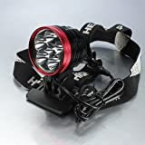 New 9000 Lumen 6XCREE 6T6 6xLED XML Bike Bicycle Headlight HeadLamp For Sale