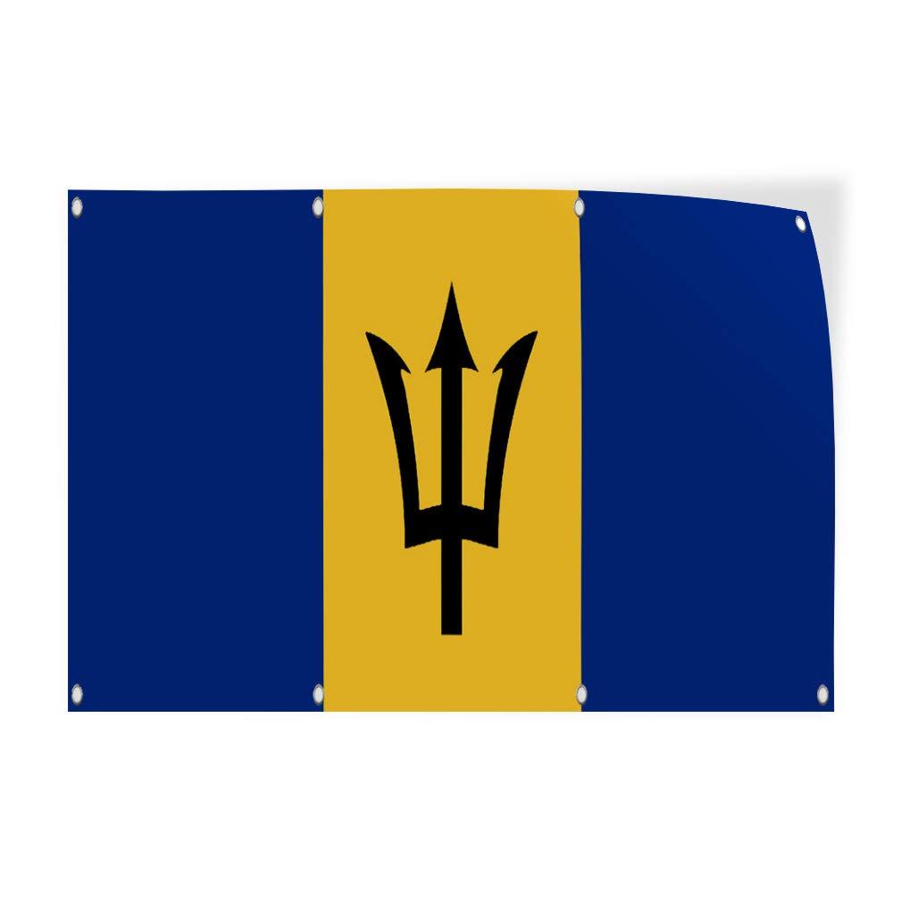 Barbados Flag Vinyl Decal Sticker ** 5 Sizes **