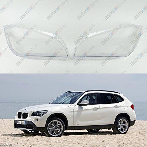New Original Headlight Headlamp Lens Plastic Cover (PAIR) BMW X1 E84 Bimmerjakes