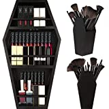 nanayo Makeup Coffin Shelf And Coffin Brush Holder