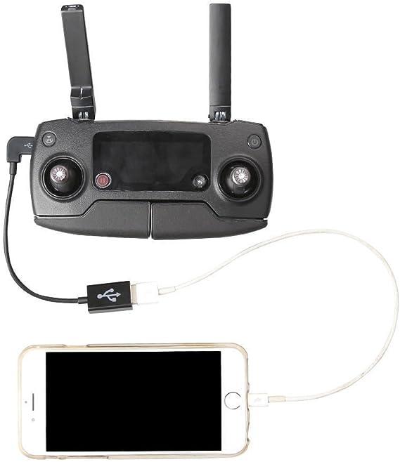 for DJI Accessories 16cm Micro USB to USB Remote Controller Converting Data Cable for DJI Mavic PRO /& Spark Drone Accessories