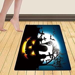 WelFriday custom door mats 114565894 halloween vector design background illustration,W22 x L36 inch
