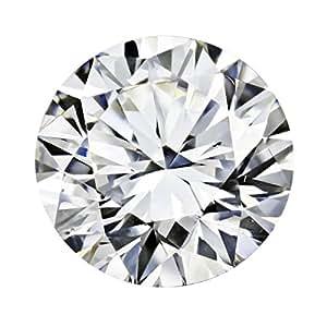 Amazon Com Gia Certified Round Natural Loose Diamond