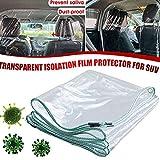 Car Taxi Isolation Film, Plastic Anti-Fog Full