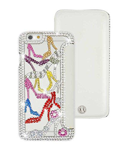 Uunique Elite révéler sucre motif chaussures Folio pour iPhone 6