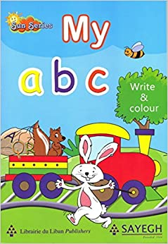 Book My ABC Write and Colour