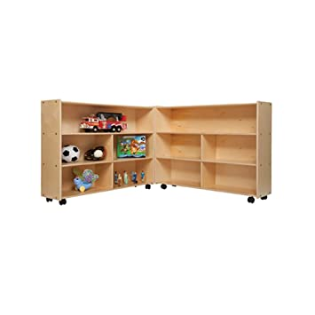 Contender Kids Home School Furniture C13730 Mobile Folding Versatile Storage  Unit 35 1/2u0026quot;