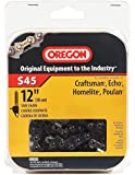 Oregon 12-Inch Semi Chisel Chain Saw Chain Fits Craftsman, McCulloch, Poulan S45 (Discontinued by Manufacturer)