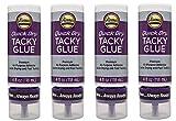 Aleene's 33147 Quick Dry Tacky Always Ready Adhesives, 4 oz. (Fоur Расk)